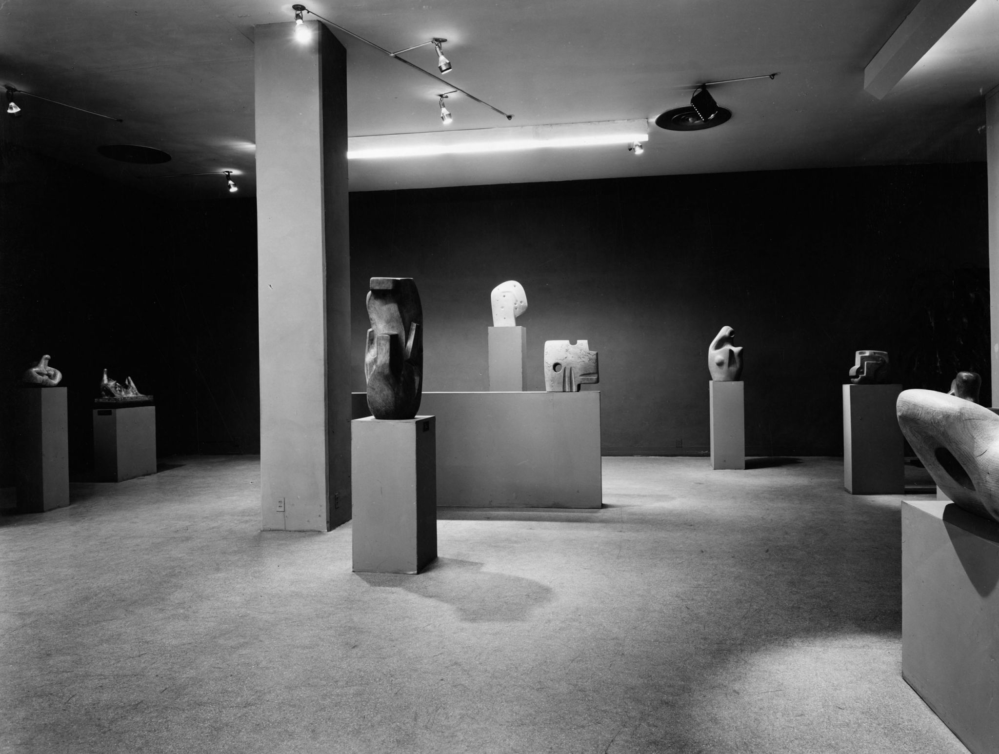 Exhibition in Museum of Art, New York 1946