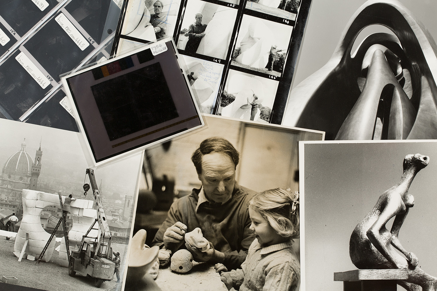 Photographic material in the Henry Moore Archive