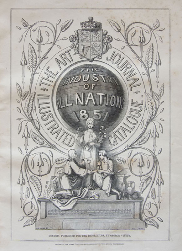 Title page from 'The Art Journal' (1851)