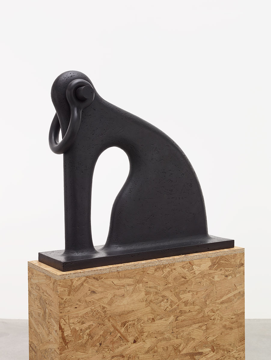 Martin Puryear 'Shackled' (2014, iron)