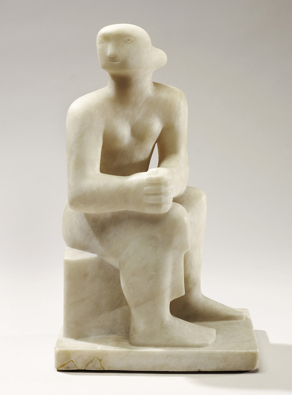 Henry Moore Seated Figure 1930 (LH 92)
