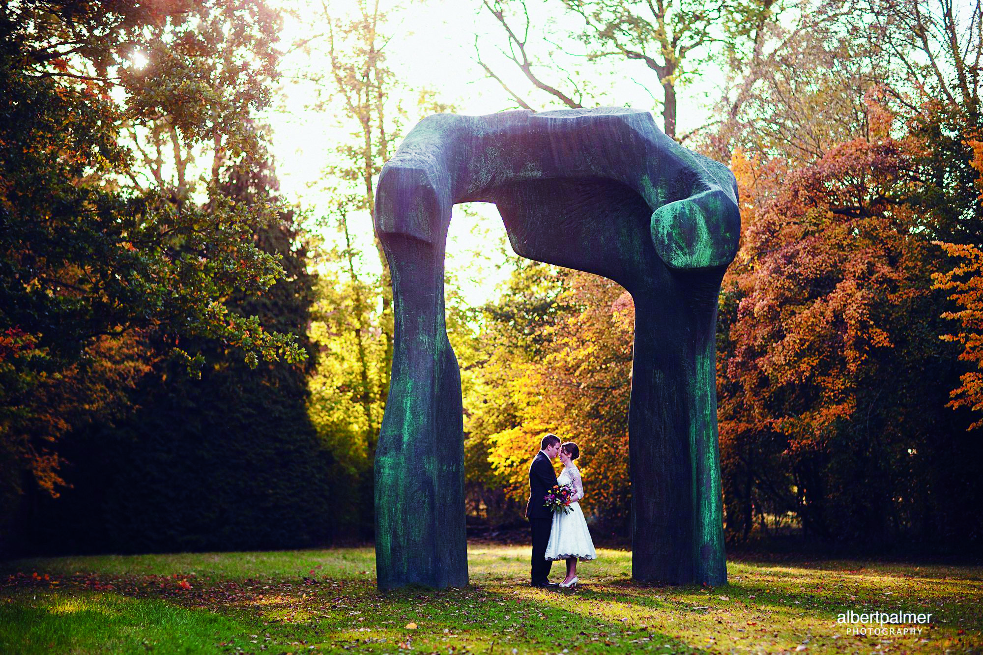 Married under 'The Arch'