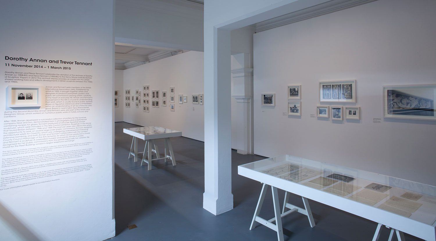 Installation view of Dorothy Annan and Trevor Tennant 4