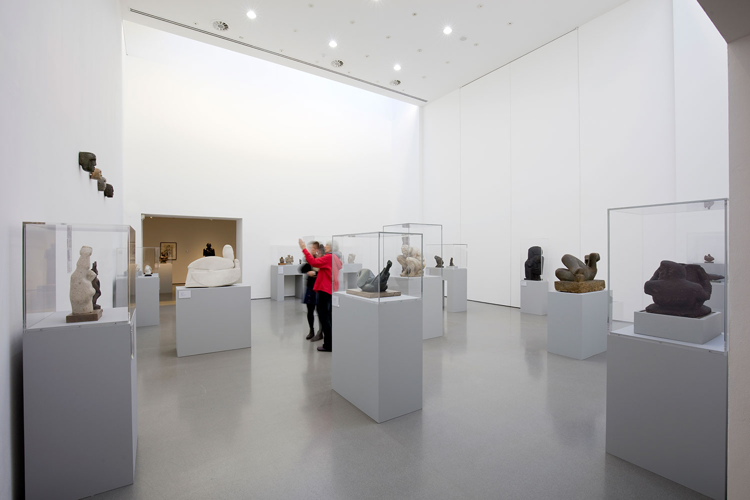 Installation view of Becoming Henry Moore (G2 2)