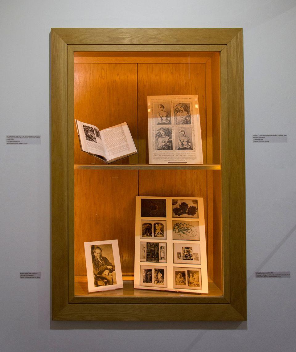 Installation view of Richard Cockle Lucas: The 'Book Monument' and the Art of Self-Memory 3