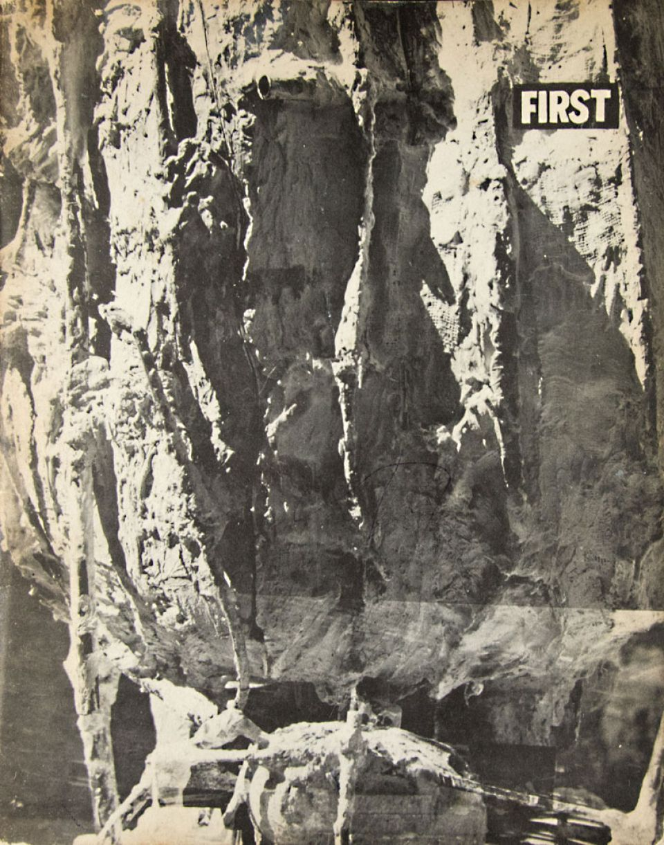 Cover of First magazine