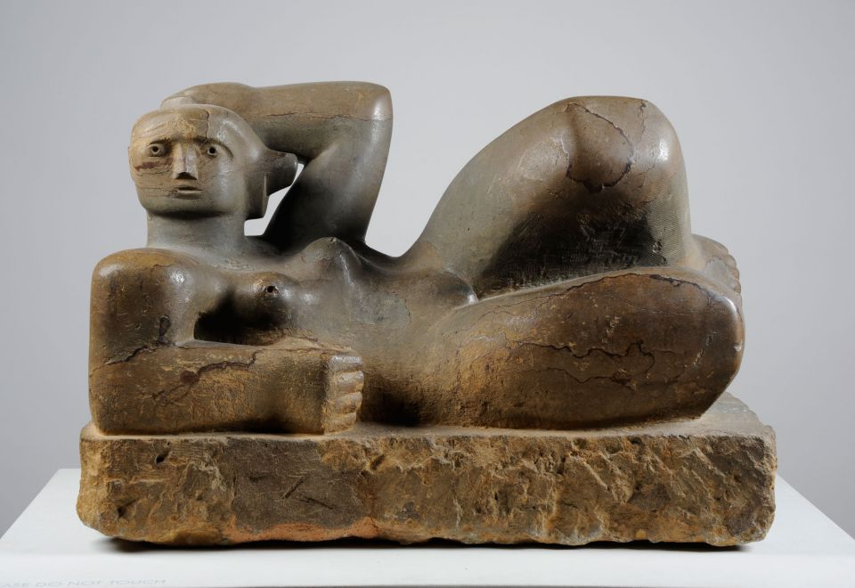 Henry Moore, 'Reclining Figure' (1929, Horton stone)