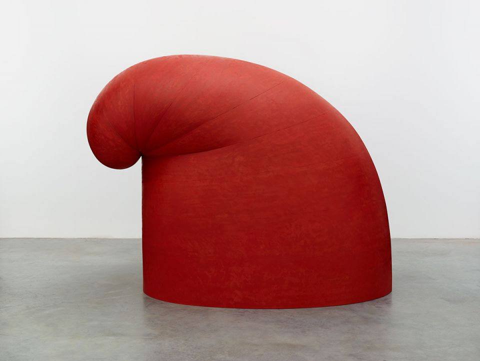 Martin Puryear, 'Big Phrygian' (2010-14, painted red cedar)