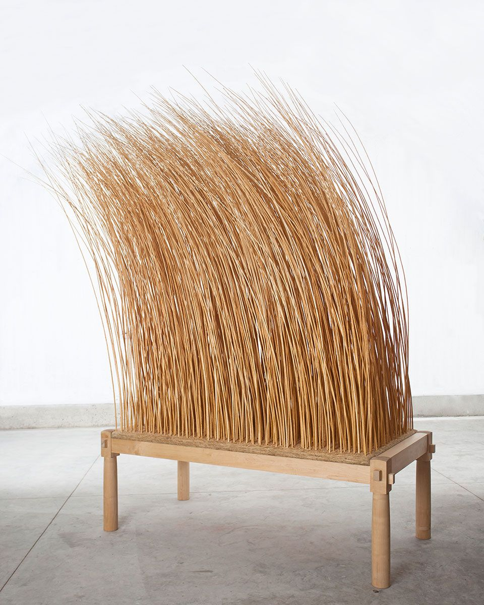 Martin Puryear, 'Night Watch' (2011, maple, willow, OSB board)