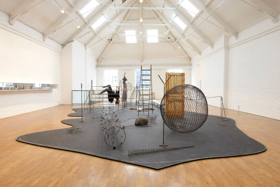 Installation view of Eva Koťátková: A Storyteller's Inadequacy at Modern Art Oxford, 2013