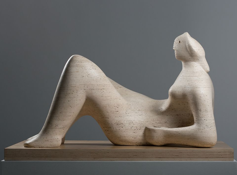 Henry Moore, 'Draped Reclining Figure' 1978