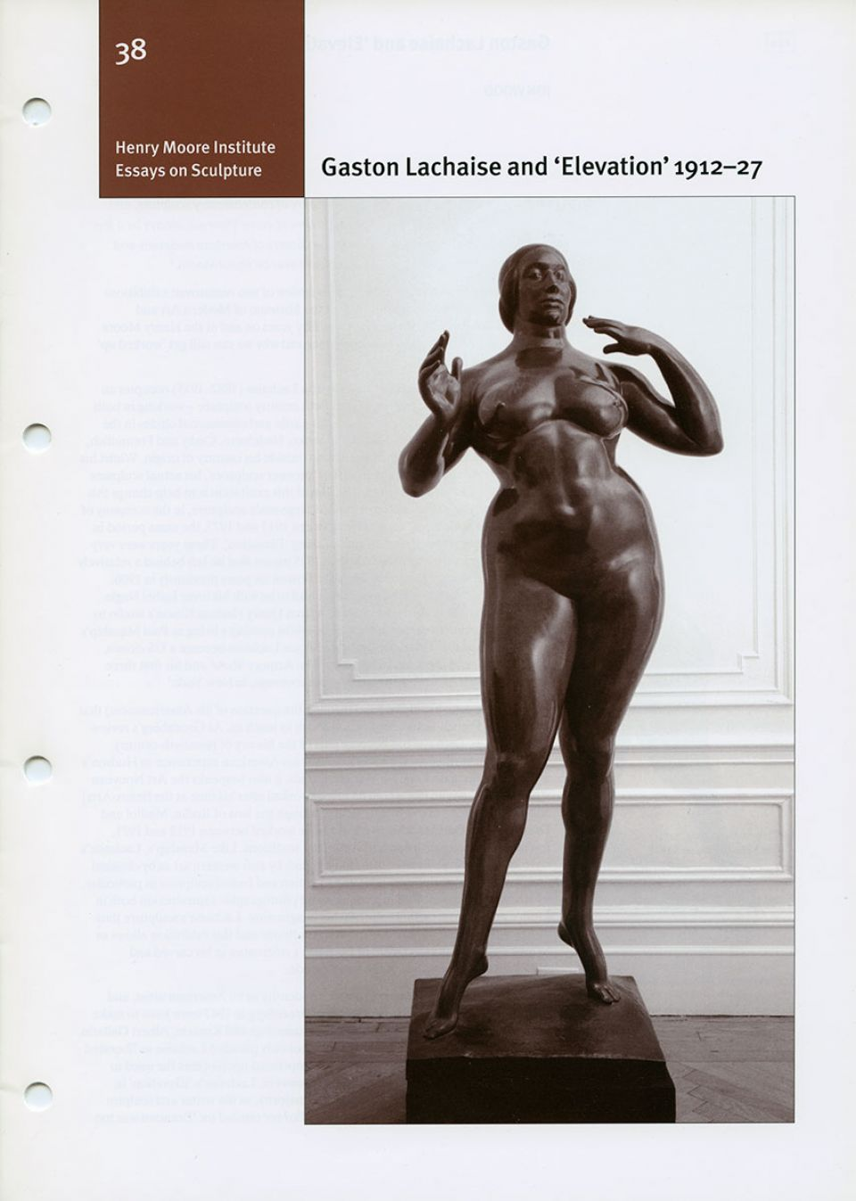 Gaston Lachaise cover