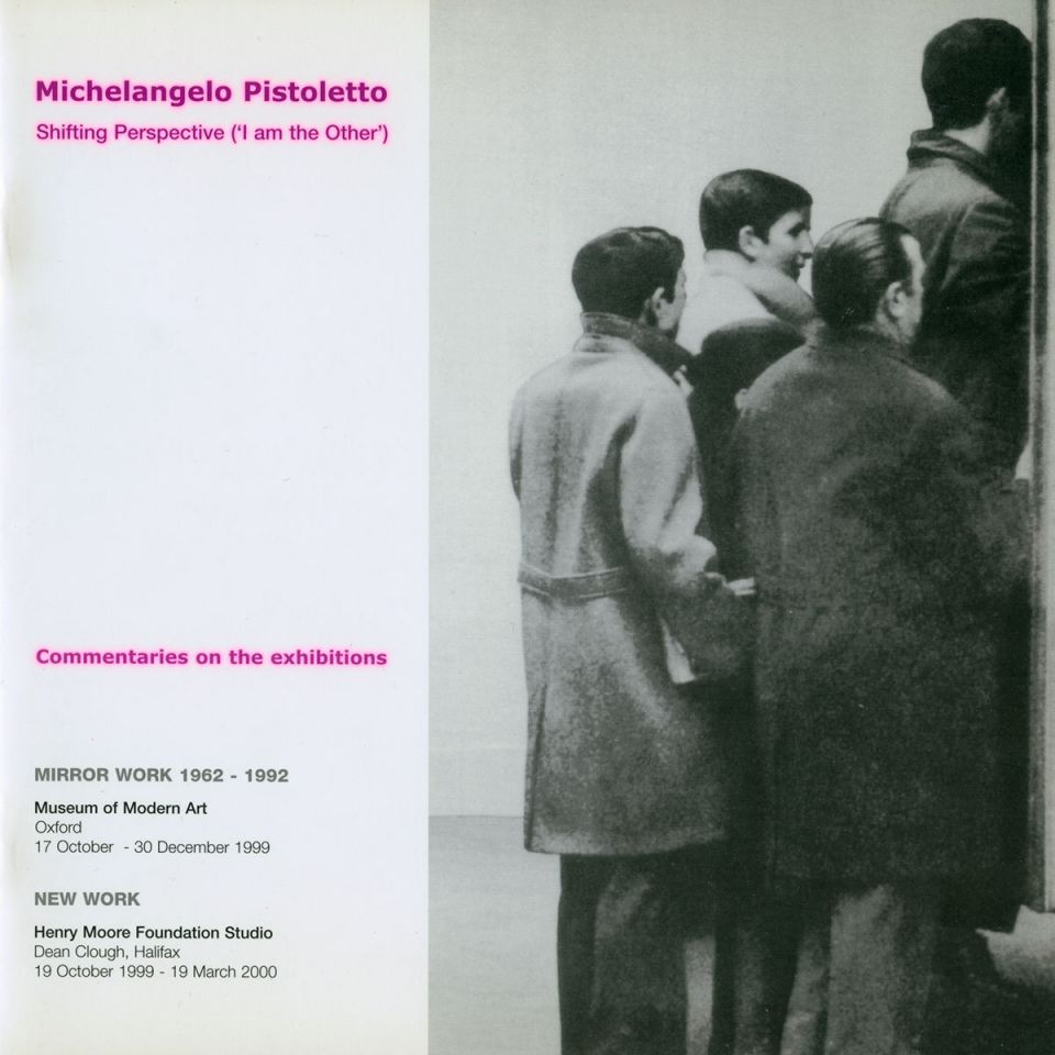 Michelangelo Pistoletto cover