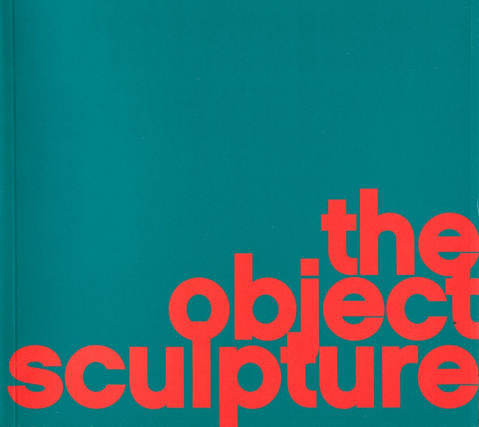 The Object Sculpture pb cover