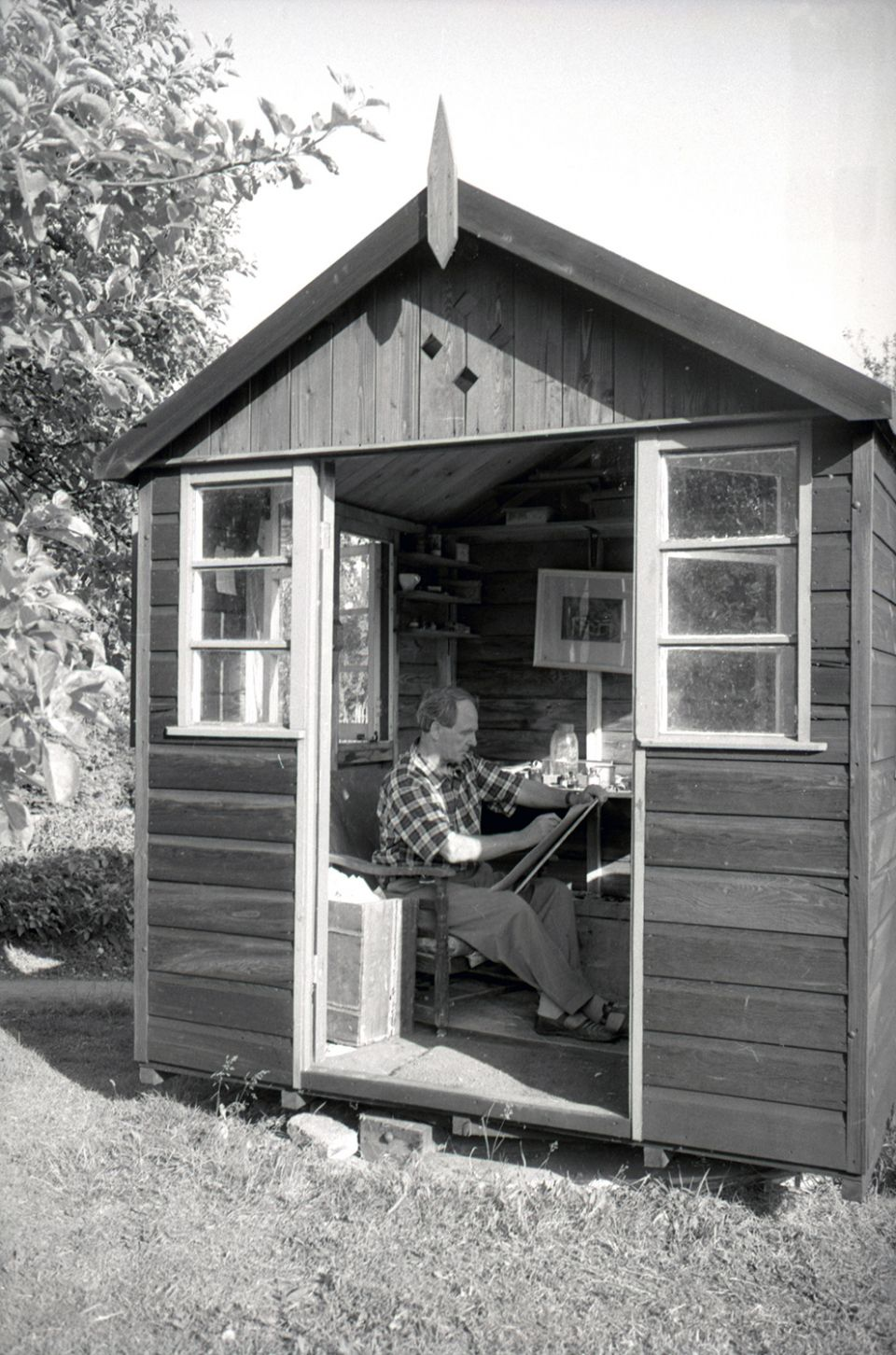 Historical shot of the Summer House