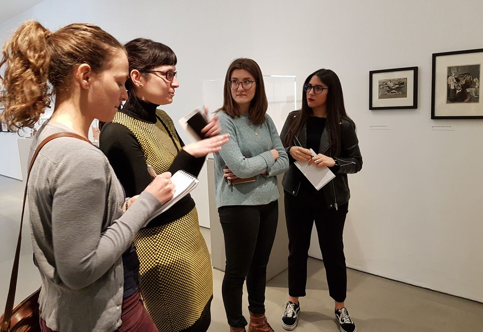 Guided tour of The Sculpture Collections