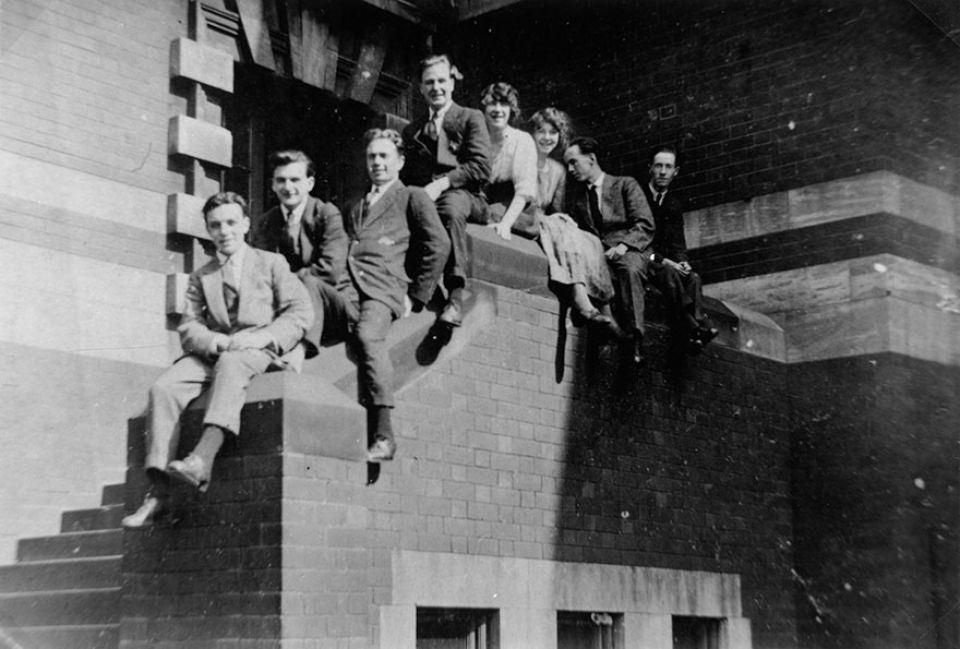 Henry Moore at Leeds College of Art, 1920