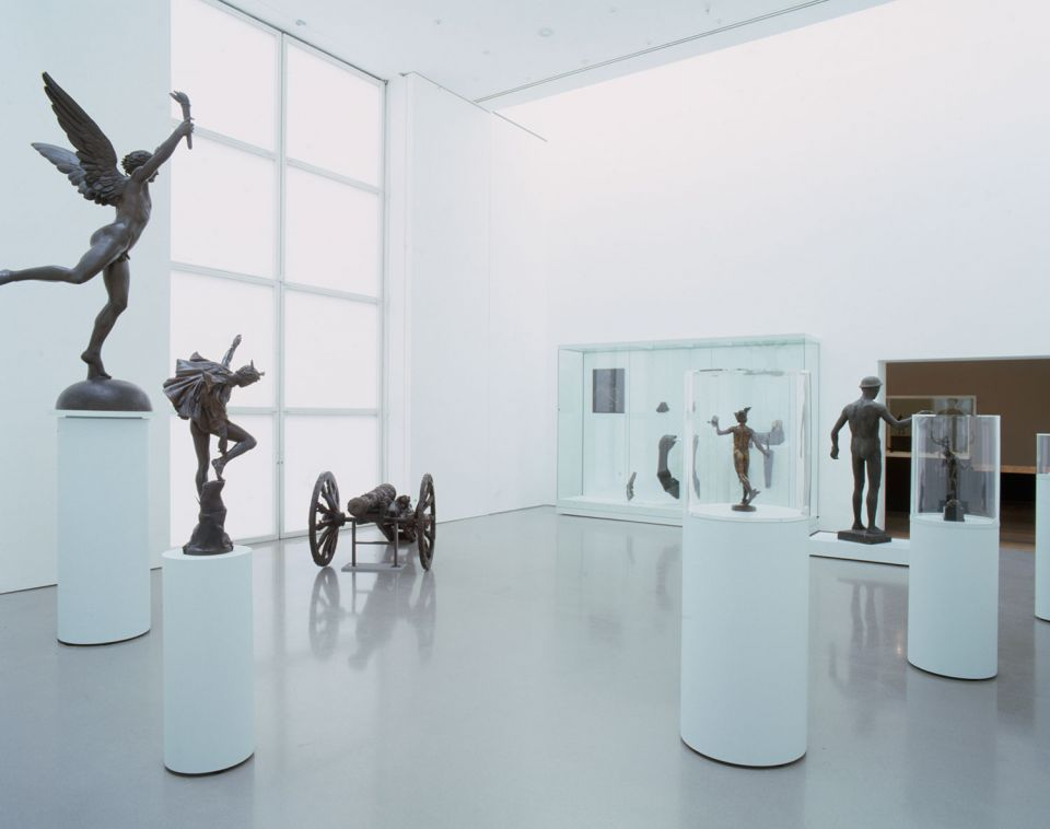 Installation view of Bronze: The Power of Life and Death