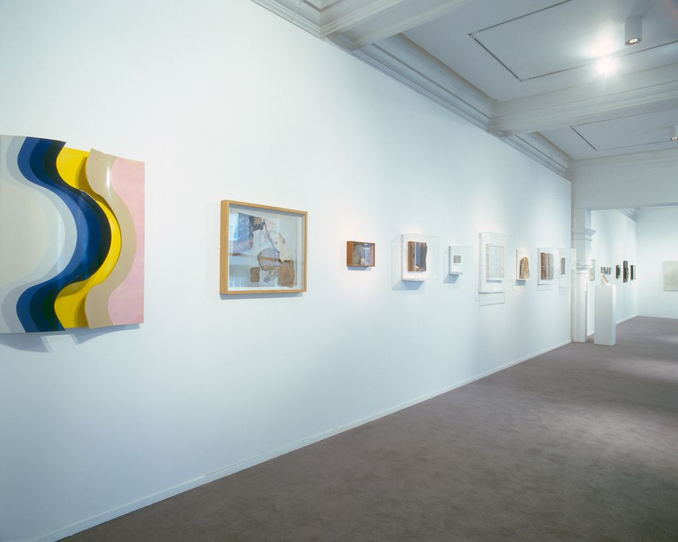 Installation view of Shallow Space 1