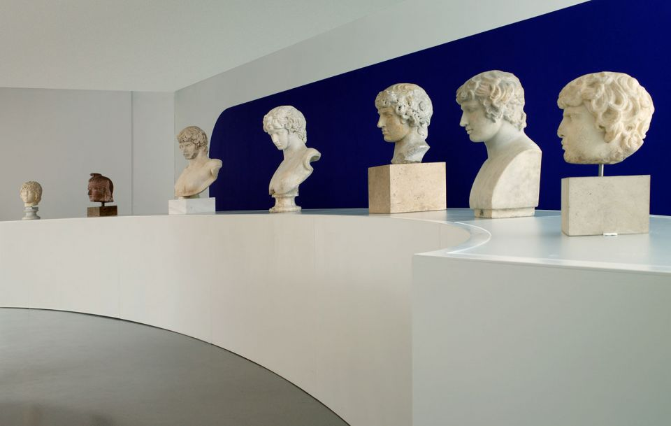 Installation view of Antinous 3