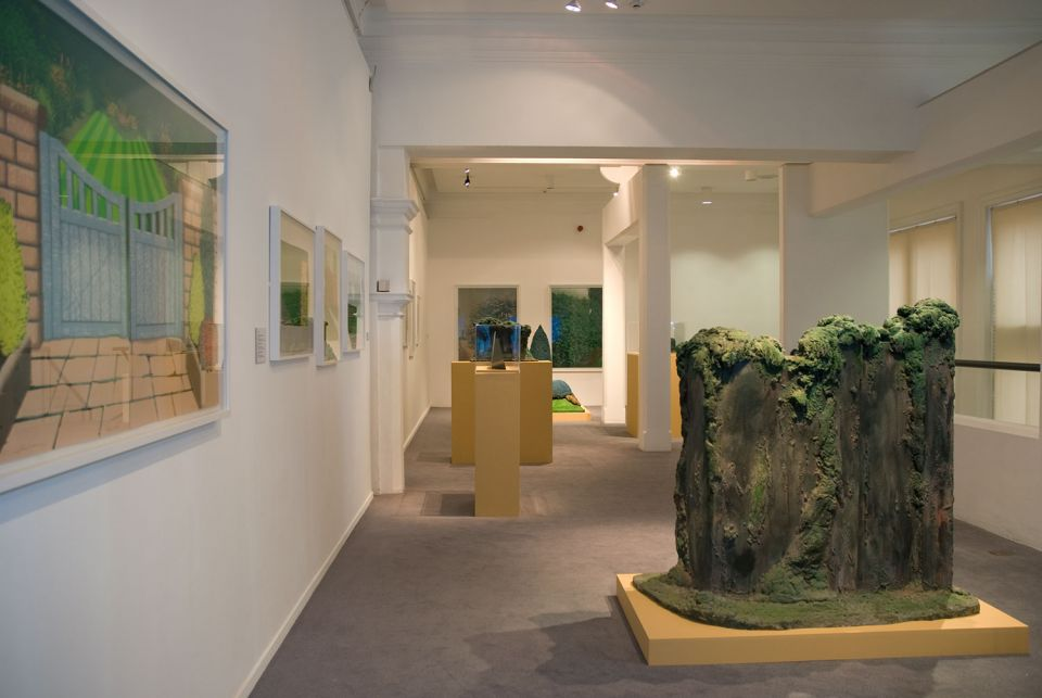 Installation view of By Leafy Ways: Early works by Ivor Abrahams 4
