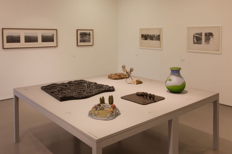 Installation view of Gallery 3