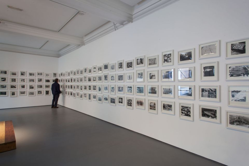 Installation view of Garth Evans: Sculpture Photographs 1