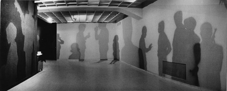 Installation view of Identification exhibition at Tokyo Gallery (1961)