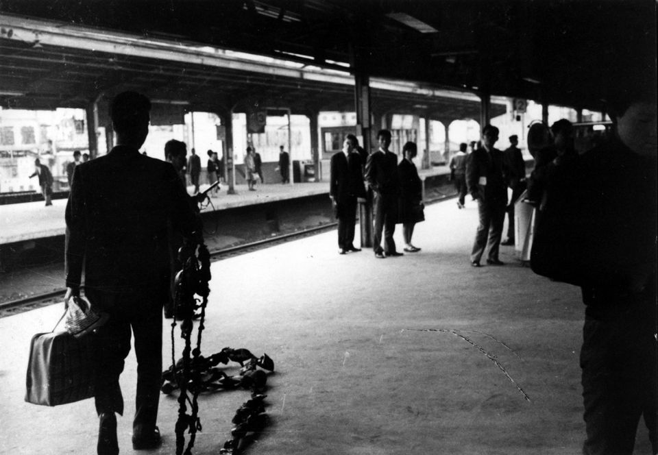 Hi-Red Centre, 'The Yamanote Line Incident' (1962)