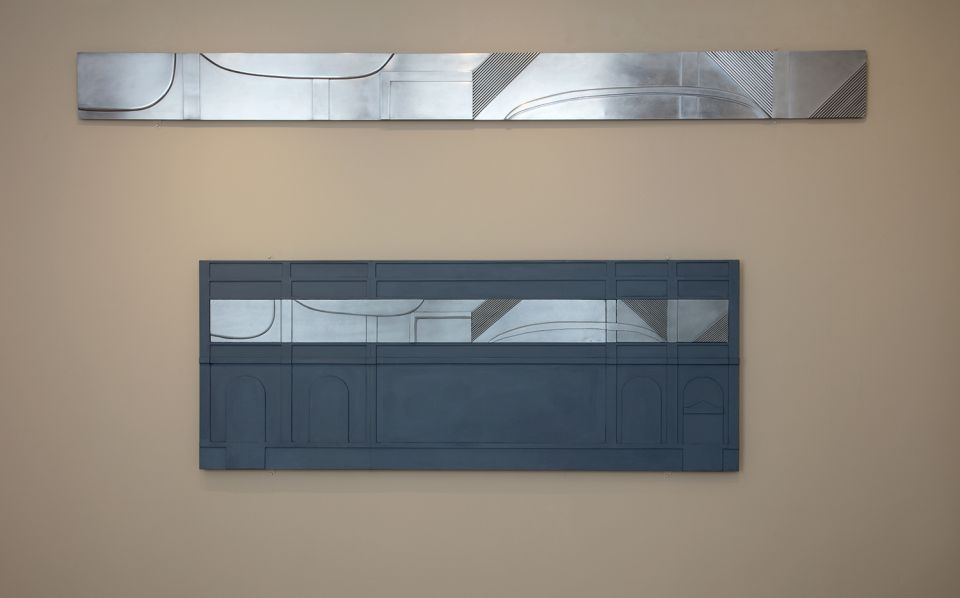 Installation view of A Frieze for Leeds 6