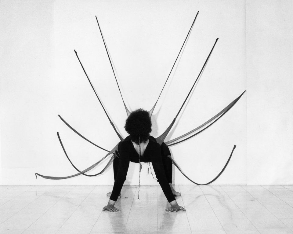 Senga Nengudi, Performance Piece 1978