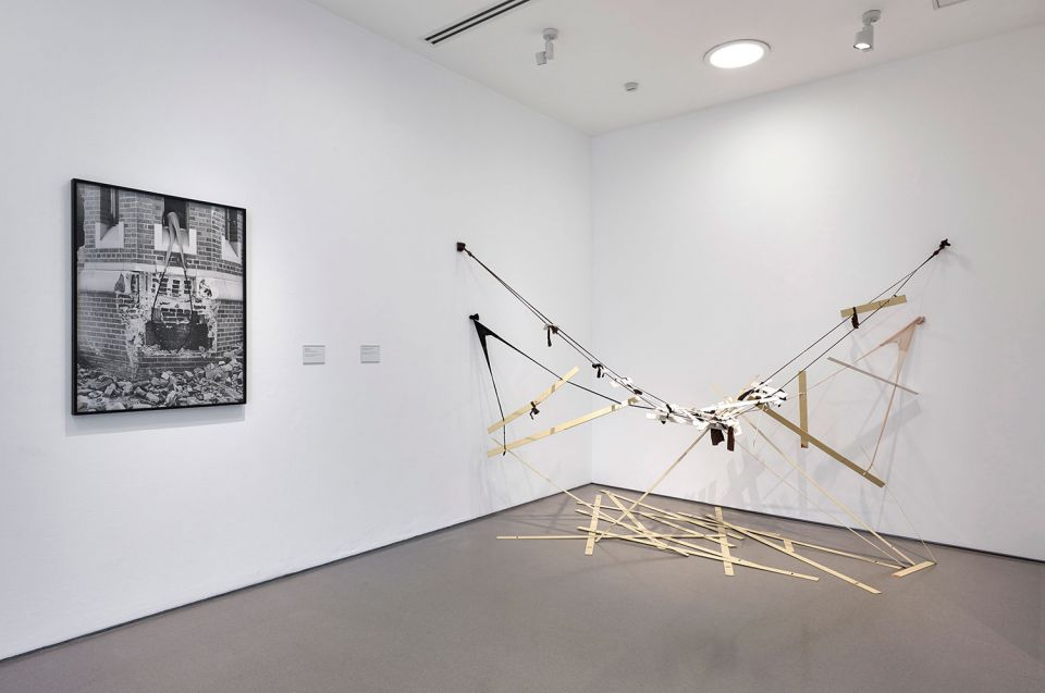 Installation view of Senga Nengudi 3