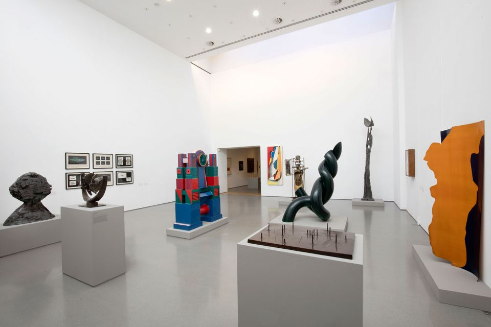 Installation view of The Sculpture Collections 2