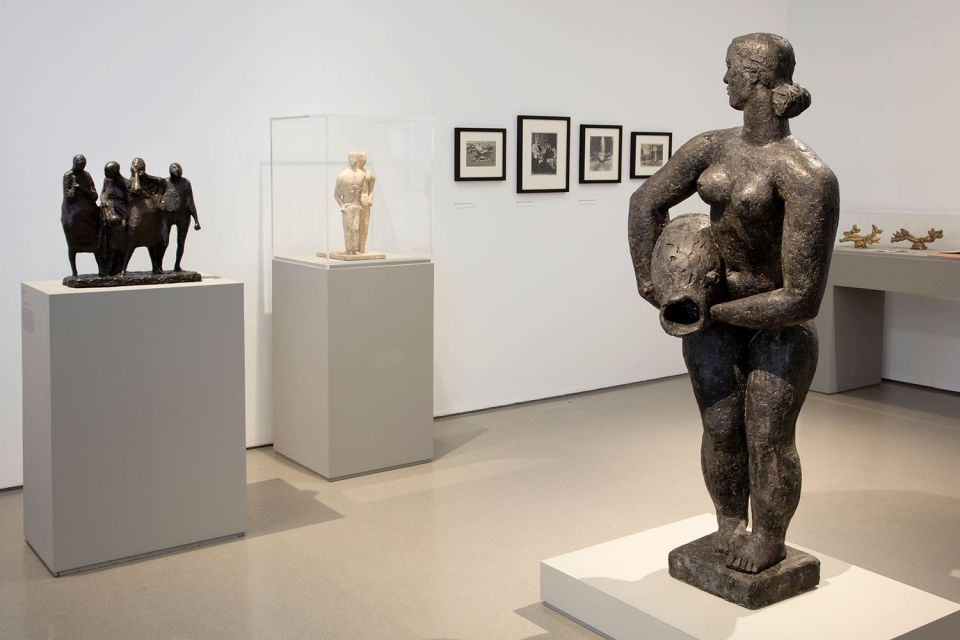 Installation view of The Sculpture Collections 6