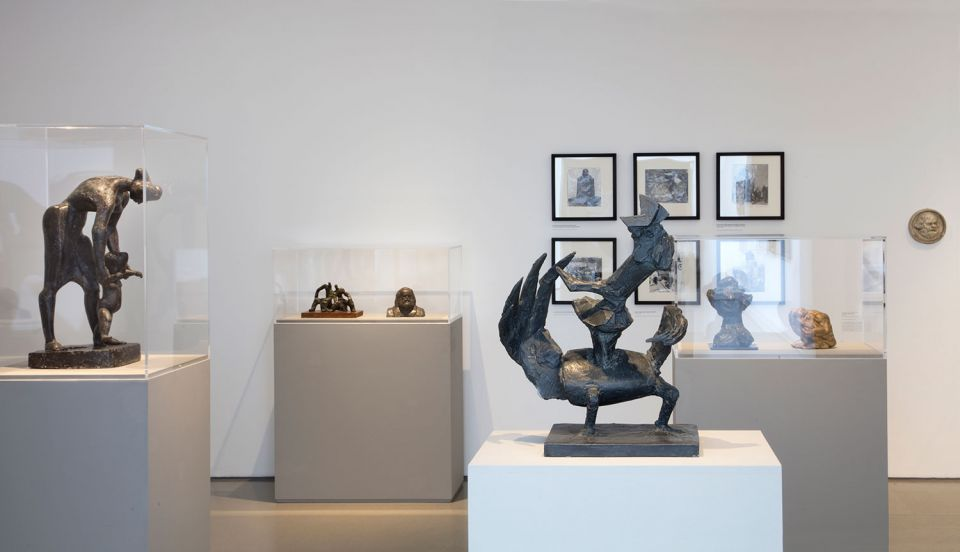 Installation view of The Sculpture Collections 8