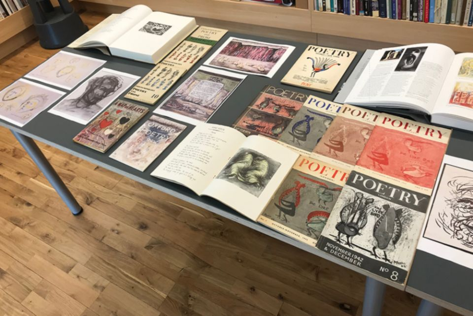 A selection of archive material relating to Moore's literary illustrations