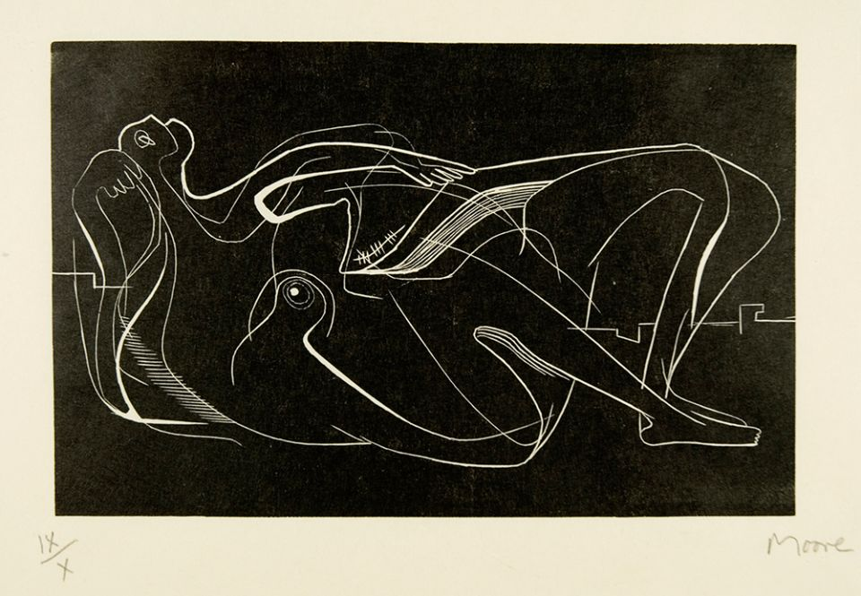 Henry Moore, 'Reclining Nude' 1931