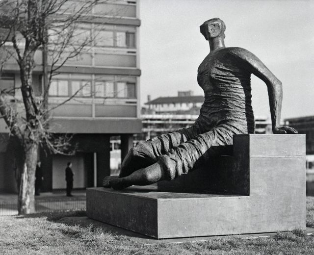 Henry Moore and Old Flo