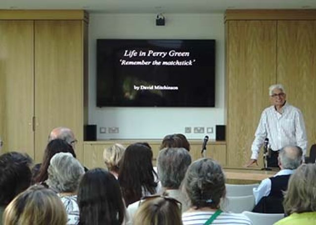 Life at Perry Green - a series of talks...
