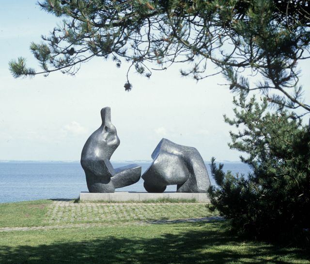 Two Piece Reclining Figure No.5