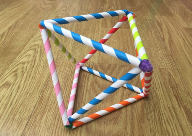 Geometric Sculpture activity