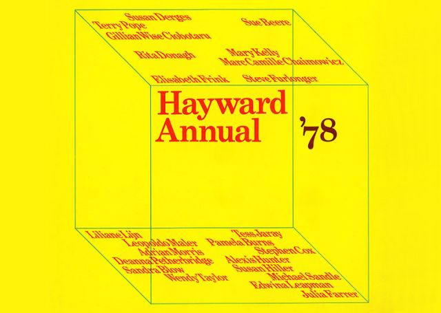 The Hayward Annual Exhibition 1978 Revisited