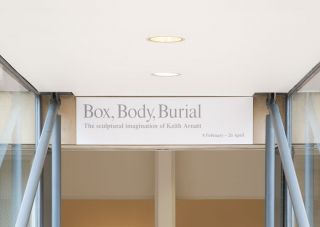 Box, Body, Burial: The sculptural imagination of Keith Arnatt