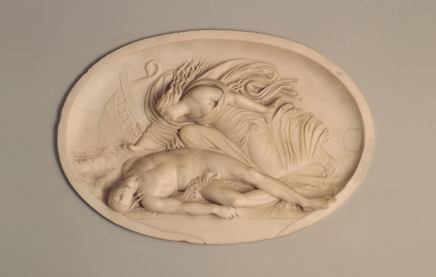 Thomas Banks, 'Alcyone Discovering the Body of Ceyx' (1775-79)