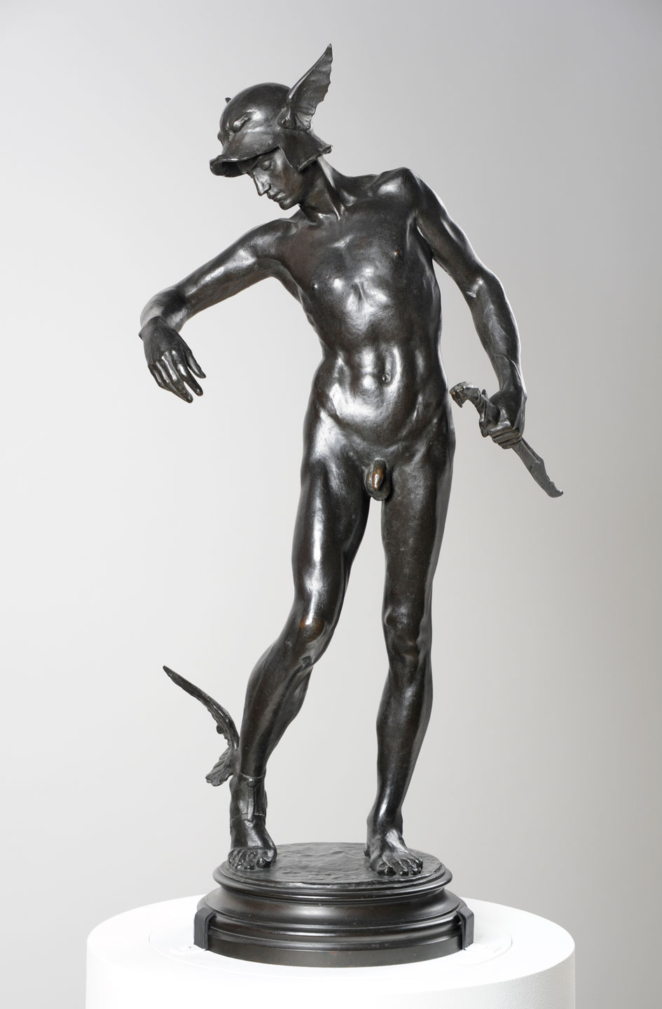 Alfred Gilbert 'Perseus Arming' (1882 (cast 1910), bronze)