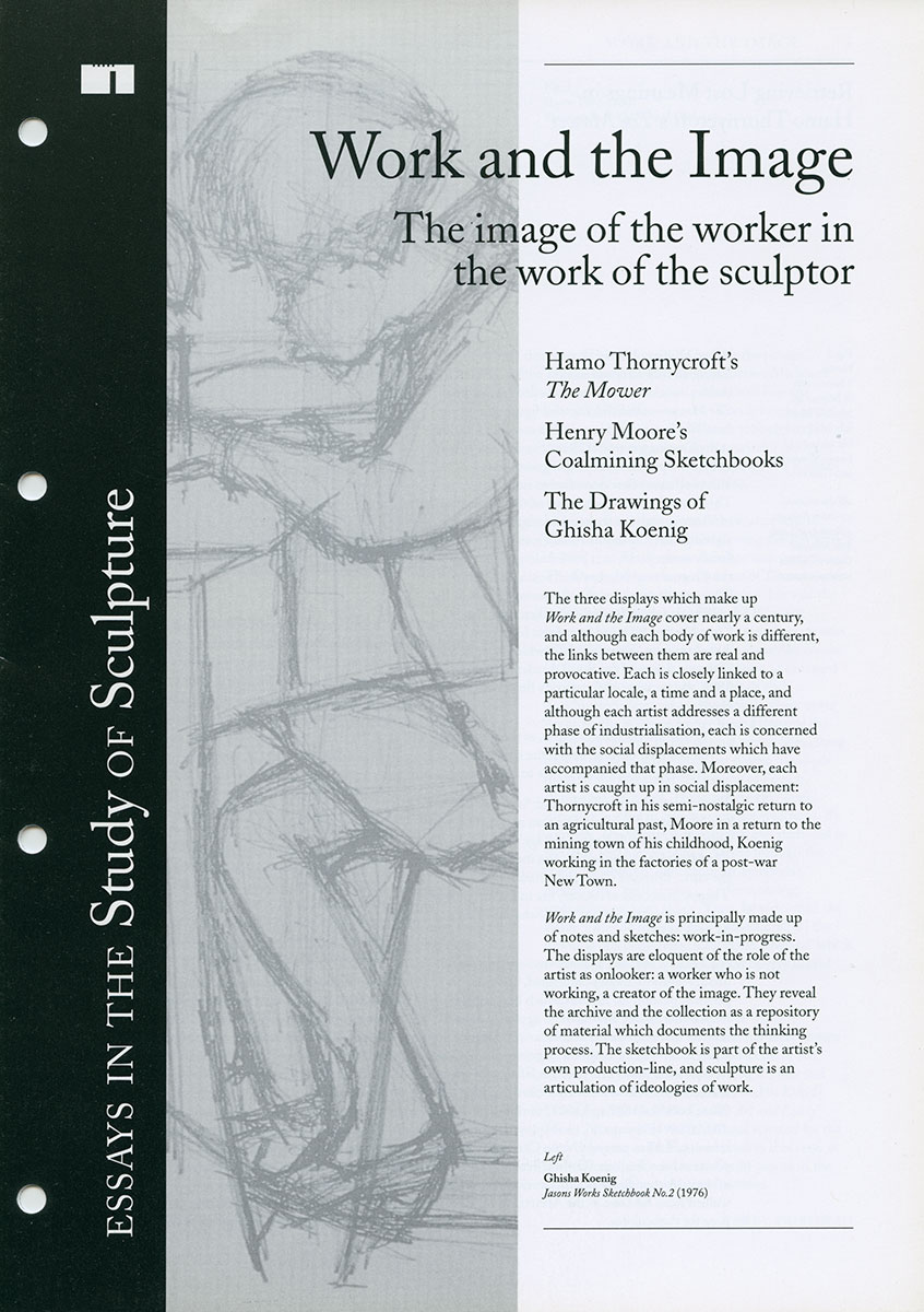 Work and the Image cover