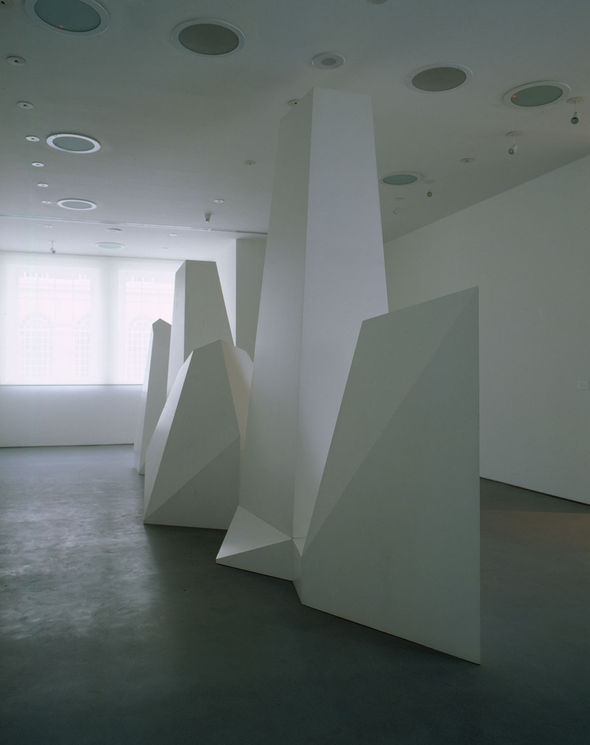 Installation view of Sol Lewitt 1