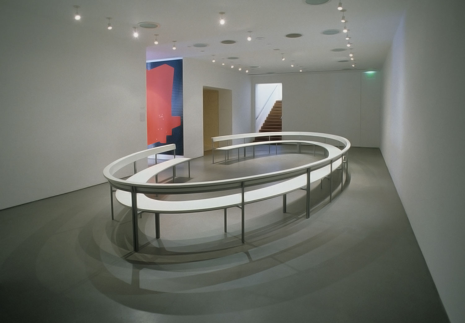 Langlands & Bell, 'Eclipse' (1998, wood, steel, lacquer)