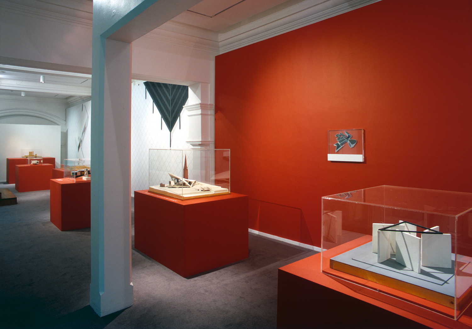 Installation view of Model Forms: Sculpture/Architecture in 50s and 60s Britain 3