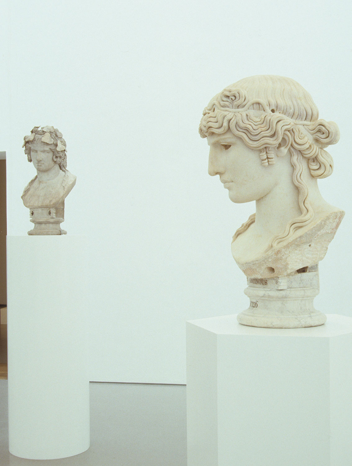 Installation view of Antinous 1